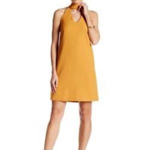 Lucy Paris mustard dress size small